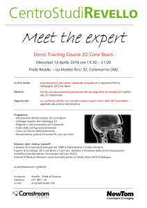 Meet the eXpert - 3D Cone Beam - Ancona