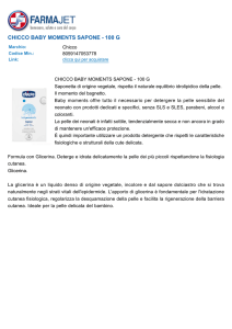 chicco baby moments sapone - 100 g
