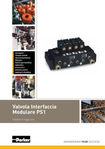 Valvola Interfaccia Modulare PS1