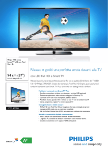 37PFL4007H/12 Philips Smart TV LED con Pixel Plus HD
