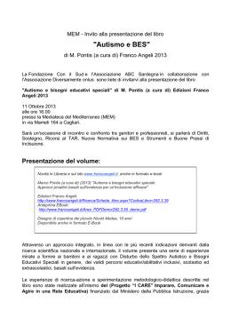 autismo e bisogni educativi speciali approcci proattivi basati sullevidenza per uninclusione efficace approcci proattivi basati sullevidenza per uninclusione efficace m3apcbsf