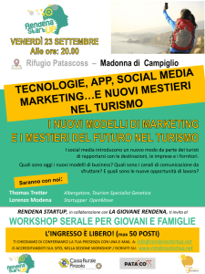TECNOLOGIE, APP, SOCIAL MEDIA MARKETING…E NUOVI