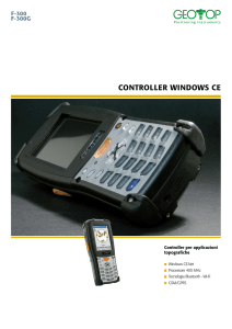 CONTROLLER WINDOWS CE