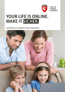your life is online. make it sicher.