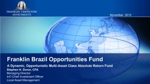 Franklin Brazil Opportunities Fund