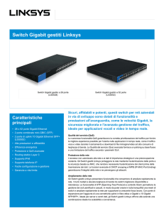 Switch Gigabit gestiti Linksys