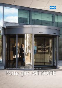 KONE MonoSpace 500® Opzioni e dimensioni del vano di corsa del
