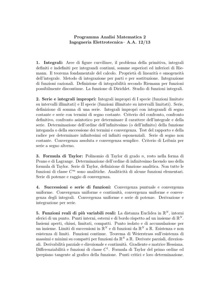 Aa 12 13 1 Integrali Aree Di Figure Curvilinee Il Problema Dell
