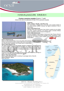 madagascar dream - Ocean Yachting Srl