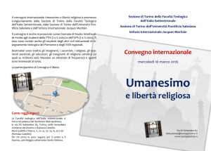 Umanesimo - Università Pontificia Salesiana