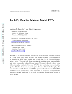 An AdS_3 Dual for Minimal Model CFTs