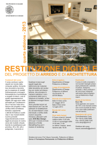 RESTITUZIONE DIGITALE