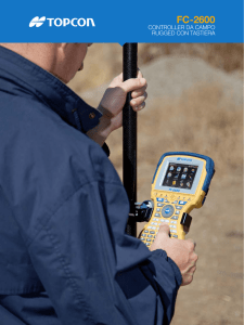 FC-2600 - Topcon Positioning Systems