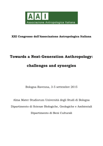 Towards a Next-Generation Anthropology: challenges and synergies