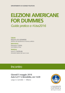 elezioni americane for dummies