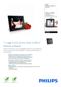 SPF7010/10 Philips PhotoFrame digitale con Bluetooth