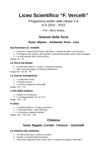 "Liceo Scientifico ""F. Vercelli"""