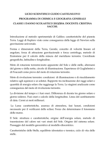 liceo scientifico guido castelnuovo programma di chimica e