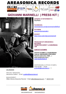 giovanni marinelli | press kit