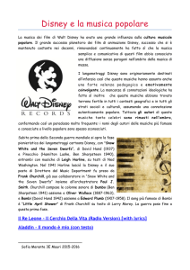 Disney e la musica - music-box