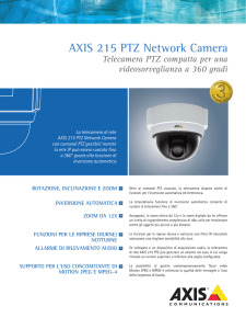 AXIS 215 PTZ Network Camera