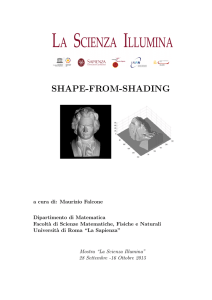 shape-from-shading - Dipartimento di Fisica