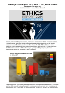 Medscape Ethics Report 2014, Parte 1: Vita, morte e dolore