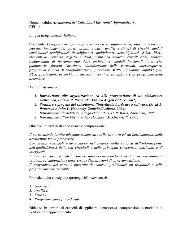 Introduzione Allarchitettura Dei Calcolatori Mcgraw Hill Pdf