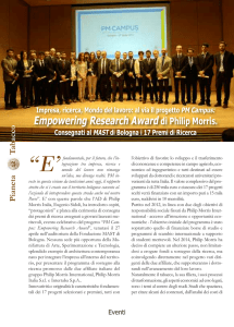 Eventi: Empowering Research Award di Philip