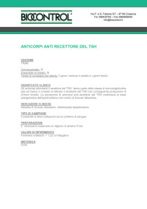 anticorpi anti recettore del tsh