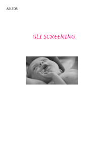 gli screening
