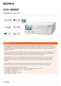 HVO-4000MT Brochure