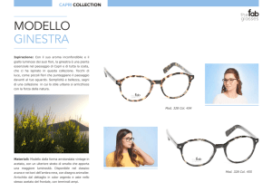 MODELLO GINESTRA - The Fab Glasses