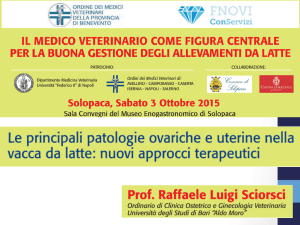 Diapositiva 1 - Ordine Veterinari Benevento