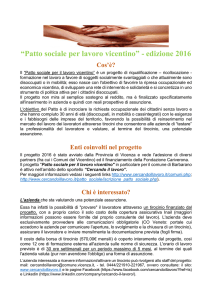 Brochure Patto Sociale