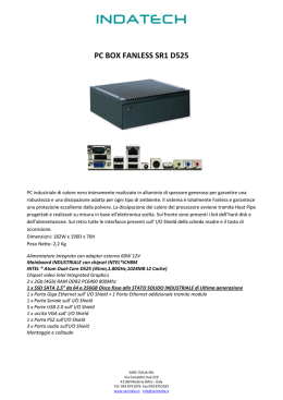 PC BOX FANLESS SR1 D525