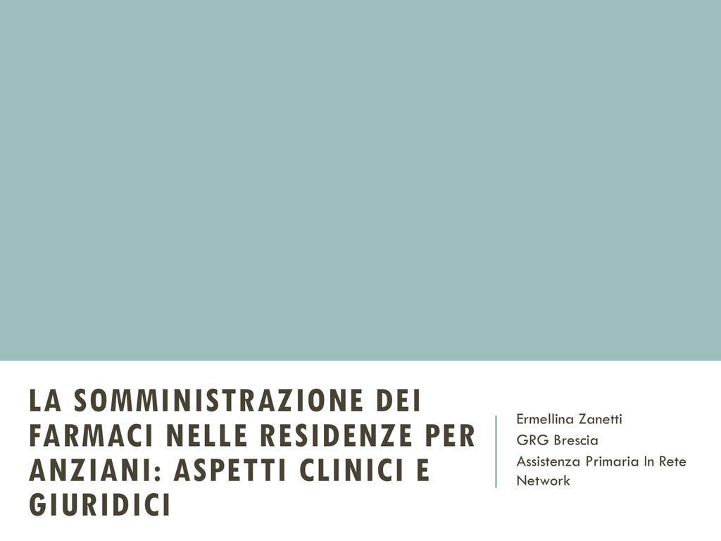 Farmaci E Infermiere Un Prontuario Per La Somministrazione.Farmaci Ipasvi Brescia