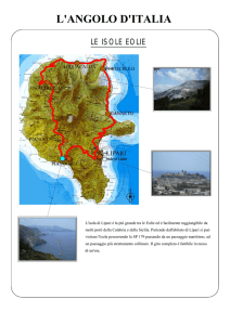 Isole Eolie - ACCADEMIA GEOGRAFICA MONDIALE