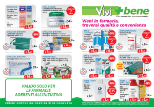 Vieni in farmacia, troverai qualità e convenienza Vieni in