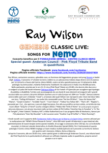 ray wilson ``songs for ne