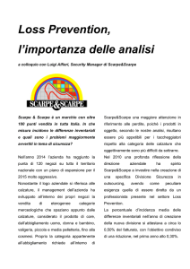 Loss Prevention, l`importanza delle analisi