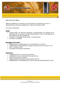 Offerta Easy Security base