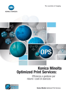 Konica Minolta Optimized Print Services