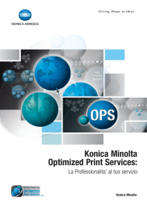Konica Minolta Optimized Print Services: