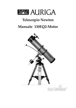 Manuale SkyWatcher 130 EQ2 Motor.