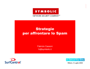 Strategie per affrontare lo Spam