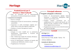 Heritage - StartupInnovative