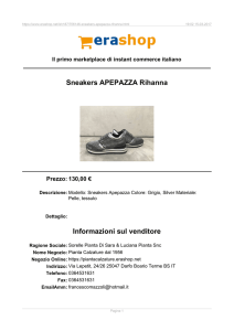 Erashop MarketPlace - Sneakers APEPAZZA Rihanna