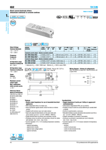 KU2 SELV - TCI professional led applications