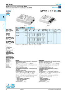 MP 39 K2 SELV - TCI professional led applications